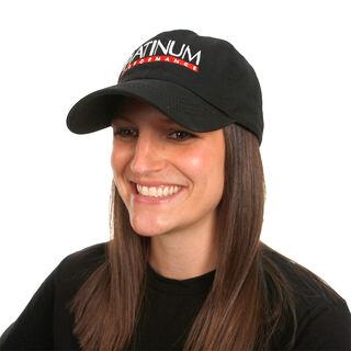 Black Unstructured Hat