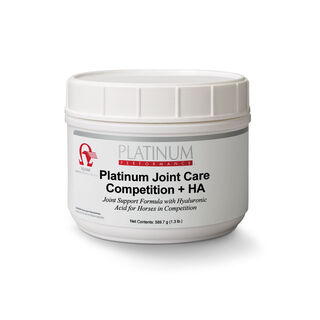 Platinum Joint Care Competition + HA Canada
