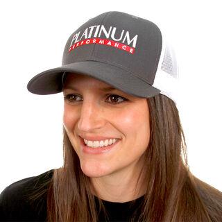 Grey & White Trucker Hat